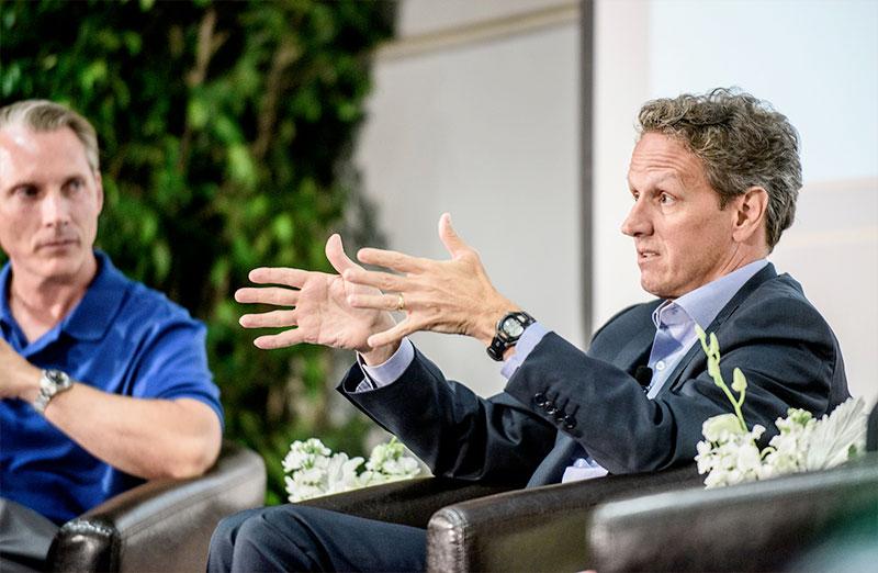 Tim Geithner keynote
